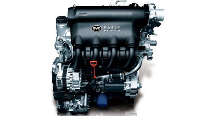比亚迪f3最新发动机图片