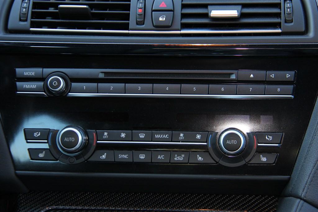 宝马m6(进口)中控台空调控制键