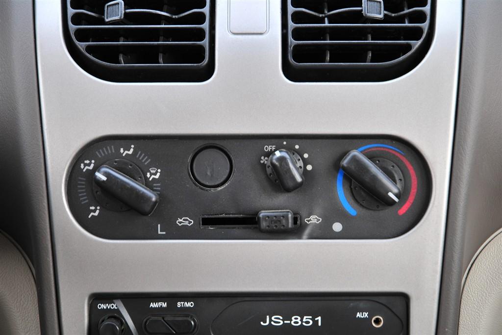佳宝v52中控台空调控制键
