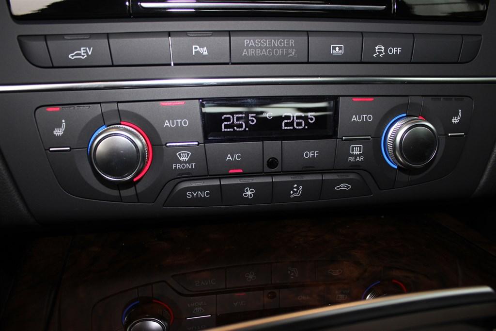 奥迪a6(进口)中控台空调控制键