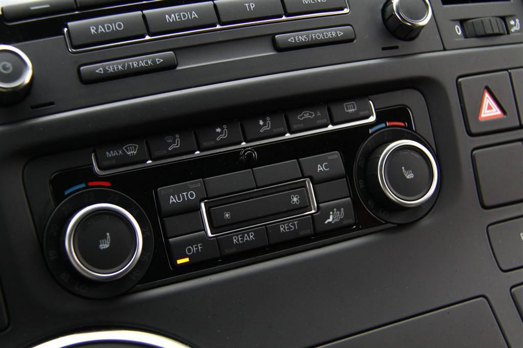 大众迈特威(进口)中控台空调控制键