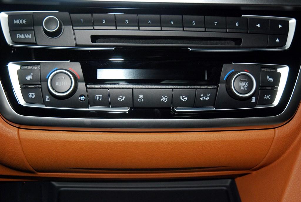 宝马4系(进口)中控台空调控制键